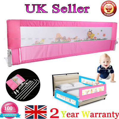 Safe Folding 150cm Baby Child Toddler Bed Rail Guard Protection Bedrail For Home