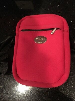Avent Thermo Bag Thinsulate Insulation Cooler Bottle Red