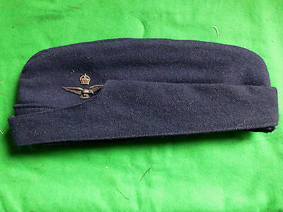 WW2 (1944 dated) RAAF side cap with Officers eagle.