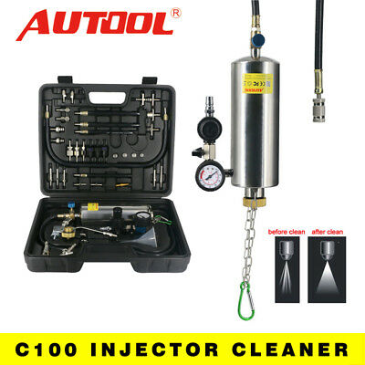 Autool Non-Dismantle Fuel System Gasoline Cleaner Injector For Petrol Throttle