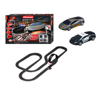 CARRERA GO!!!+ 20066004 - Night Chase, 66004, mit 2 Autos u Looping, APP