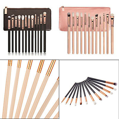 12X Pro Makeup Brushes Set Eyeshadow Eyebrow Eyeliner Foundation Lip Brush