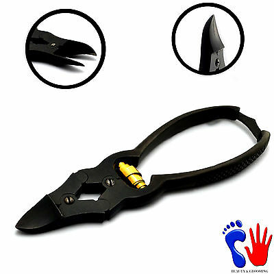 New Cantilever For Thick Nails Clipper Cutter Gold Barrel Spring Podiatry Tools