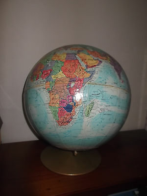 Vintage World Globe_Great for Vintage/Desk Display