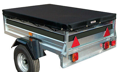 Sumex Cover+ Black Waterproof & Breathable Trailer Cover - Large 200 x 120 x 8cm