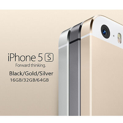 Apple iPhone 5S/4S 16/32/64GB -All Color (Facrory Unlocked) Warranty Smartphone#