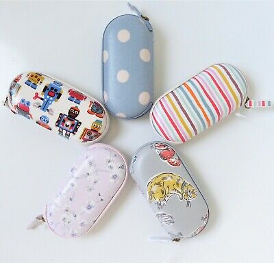 Cath Kidston Glasses Case * Oilcloth * Zip * Hard * BNWT * Spectacles * Gift