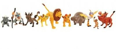 LION GUARD - Deluxe ANIMAL FIGURE SET - 10 poseable Characters