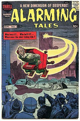 Alarming Tales 1 F/VF 7.0