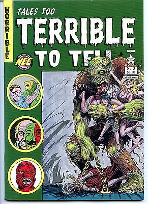 Tales too Terrible to Tell,  No 3, VF 8.0