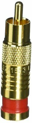 Platinum Tools 18055 Compression Connector, Gold Plate, 25-Pack