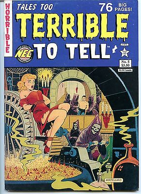 Tales too Terrible to Tell,  No 5, VF 8.0