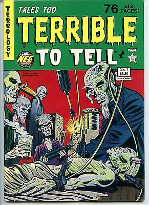 Tales too Terrible to Tell,  No 7, VF 8.0