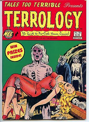 Tales too Terrible to Tell,  No 10, VF 8.0