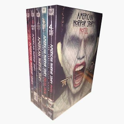 American Horror Story: The Complete Seasons 1-5 (DVD, 20-Disc Set) 1 2 3 4 5
