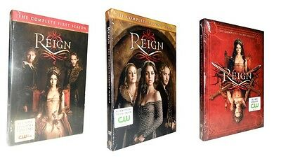 Reign: The Complete Seasons 1-3  (DVD, 14-Disc Set) 1 2 3