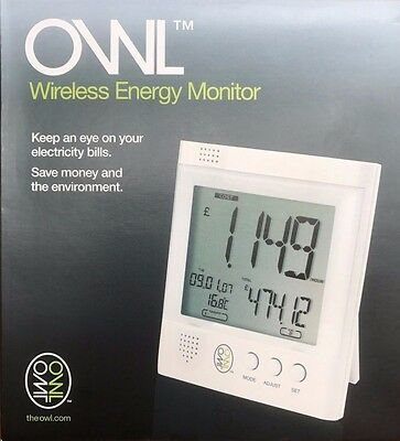 Owl Wireless Energy Saving Monitor.  New and boxed.