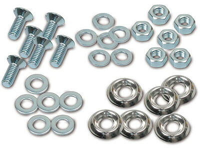 Standard Parts Set - Mounting Pieces for Footboard KR51/1, KR51/2 (Right+Left)