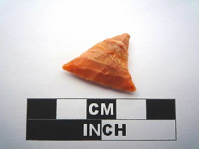 Neolithic Arrowhead 22mm, High Quality Saharan Flint Artifact - 4000BC  (1006)