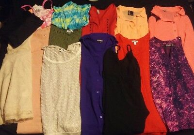 Juniors clothing lot size small & medium, huge lot of ladies dresses & tops