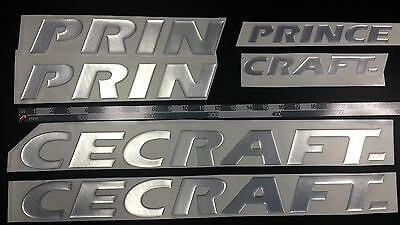 "PRINCECRAFT Boats Emblem 33"" Epoxy Stickers Resistant to mechanical shocks"