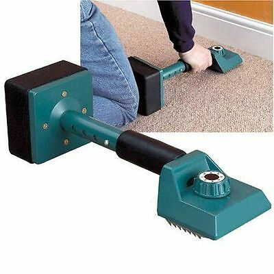 Pro Carpet Kicker Fitting Gripper Knee Stretcher - 8 Settings For Length Adjust