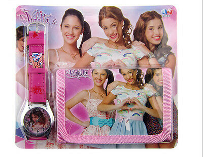Lot Classic Violetta Wristwatch watch and Purses Wallets Set Party Favors D33