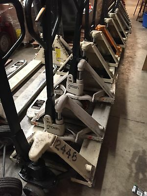 SAVE! Excellent Condition Commercial Grade Pallet Jacks - Wesco, Crown, & Others