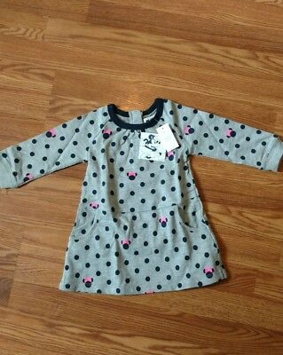 Girls Baby Gap Minnie Mouse dress size 12-18 mo NWT's