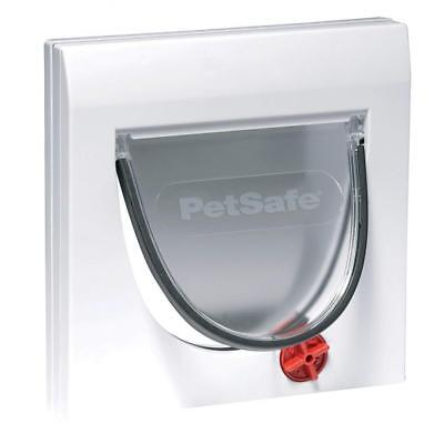 Pet Safe Stay well Classic Manual 4 Way Locking Cat Flap Without Tunnel New