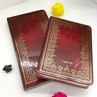 Vintage Hard Cover Notebook Business Notepad Student Journal Diary Book NEW LH