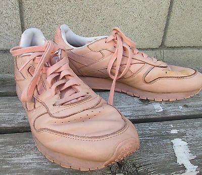 Reebok Classic x FACE Stockholm Pink Leather Women's Sneakers Shoes US 9