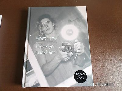 Brooklyn Beckham - What I See - Signed Edition (Hardback)