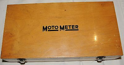 Pre 1965 Moto Meter Recording Compression Tester Western Germany
