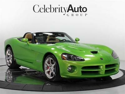 2009 Dodge Viper SRT 10 Only 13 Produced 2009 DODGE VIPER SNAKESKIN EDITION CONVERTIBLE