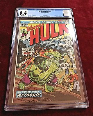 Incredible Hulk #180 --  1st Appearance of Wolverine!! -- NM  9.4! White pages!
