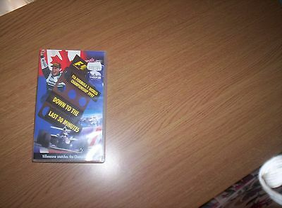 Formula 1 World Championship Review 1997 vhs video