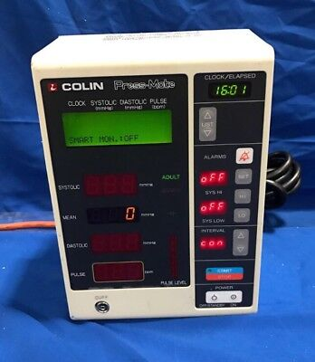 Colin Press Mate BP 8800C NIBP Blood Pressure Sphygmomanometer Monitor