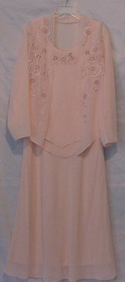 Mother Of The Bride or Bridegroom ~ Long Formal Occasion Dress ~ Size 16 Women's