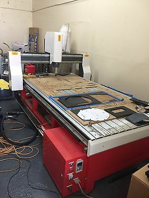 Industrial 4'X8' CNC Table Router System
