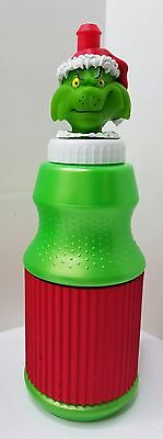 Grinch Collectible Water Bottle, 18 oz. Drink Pull Top refillable Bottle