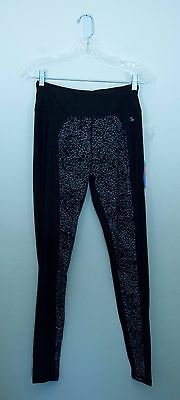 Women's Re Activate Athletic Yoga Pants Running Leggings Size S New NWT Black