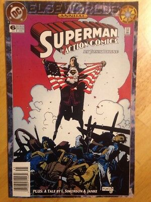 Action Comics Annual #6 Elseworld's Superman In Action