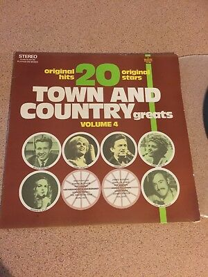 20 TOWN AND COUNTRY GREATS Vol 4_used VINYL LP