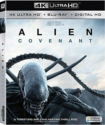 Alien: Covenant (2017, Blu-ray NEUF)2 DISC SET