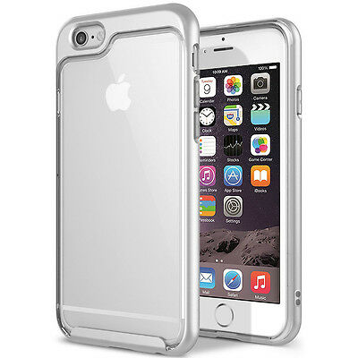 """Armor Shockproof PC Hybrid Clear TPU Hard Case Cover For Apple iPhone 6S 6 4.7"""""""