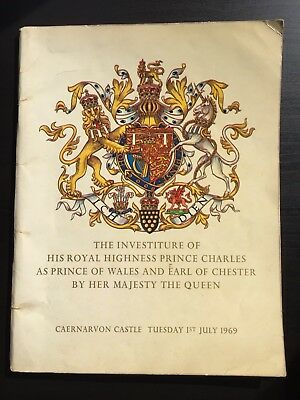 The Investiture of His Royal Highness Prince Charles as Prince of Wales 1969