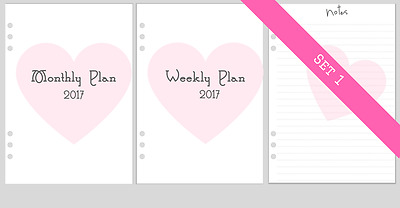 Planner Refills A5 size