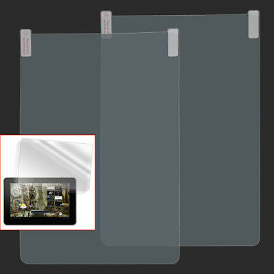 2Pcs Screen Protector Plastic Protective Film For-10.1 inches Android Tablet