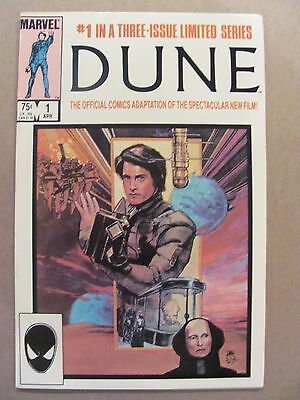 Dune #1 #2 #3 Marvel Complete 1985 Series Official Adaptation of Movie 9.2 NM-